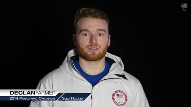 How Declan Farmer Started Playing Sled Hockey | PyeongChang Paralympics
