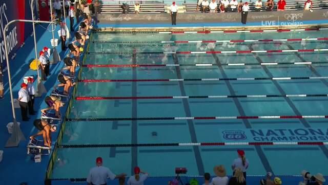 Micah Sumrall Wins Women's 200m Breaststroke