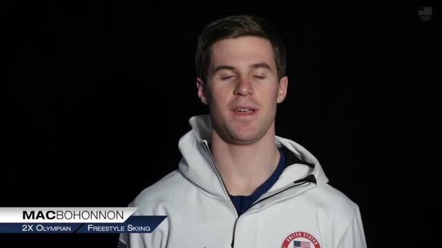 Mac Bohonnon Explains Aerials   Team USA In PyeongChang
