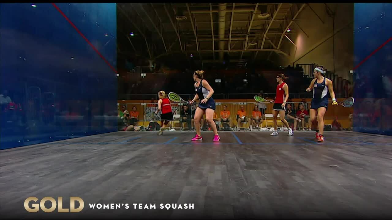 Squash Takes Doubles Gold For Team USA