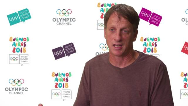 Youth Olympic Games Buenos Aires 2018 | Tony Hawk Talks About Gender Equality In Skateboarding