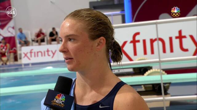 Team USA Diver Katrina Young Is Feeling Good About 2020 Olympics