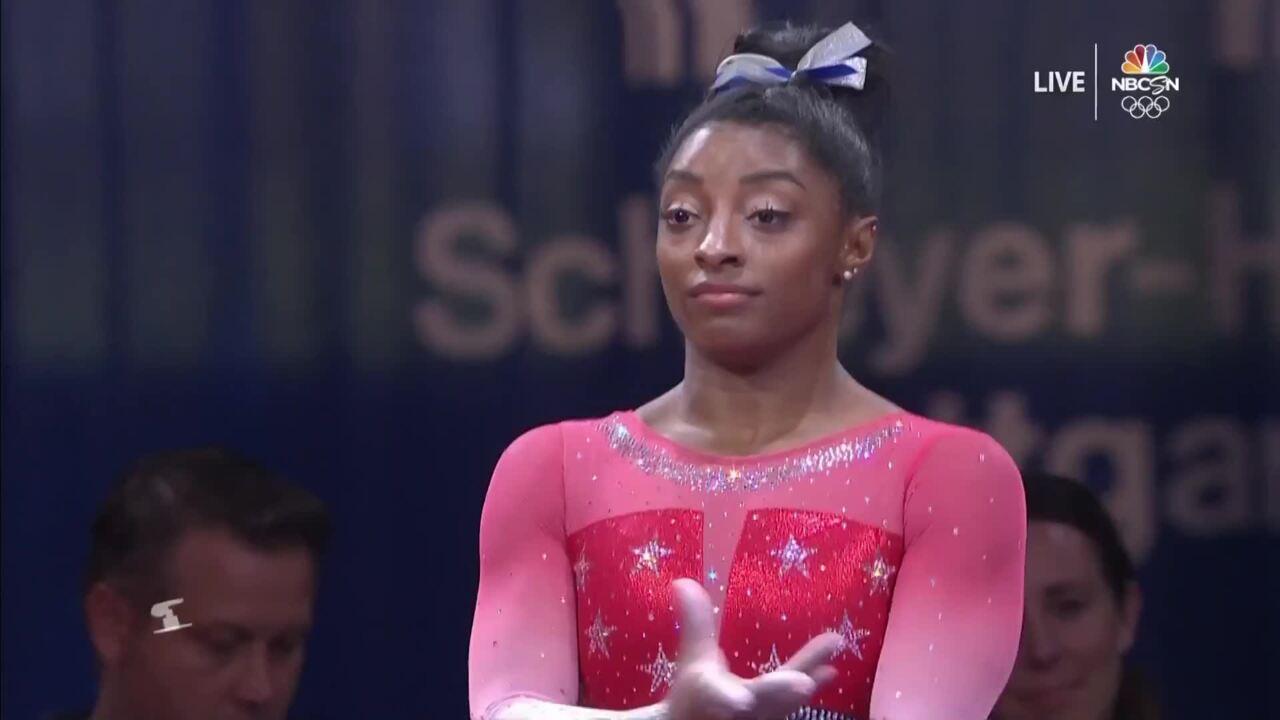 Simone Biles Shines On Vault at 2019 World Championships