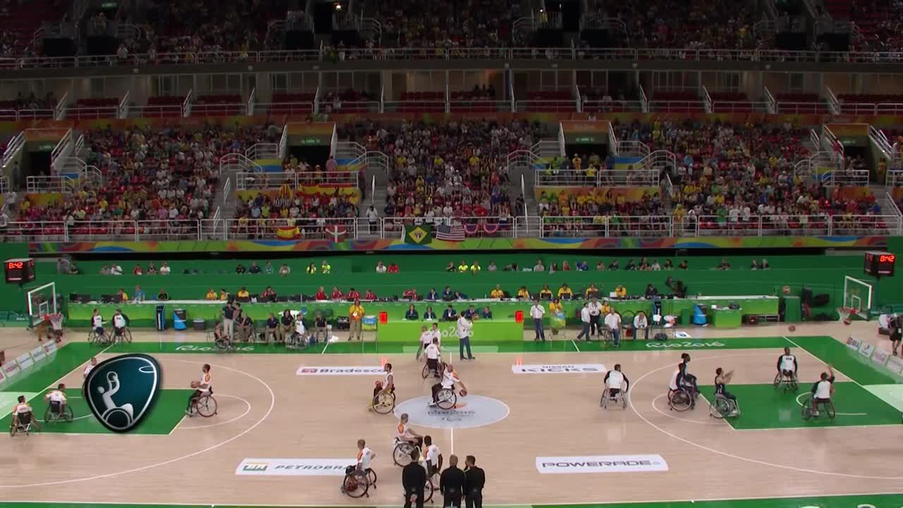 BMW Performance of the Day | Men's Wheelchair Basketball USA vs ESP Gold Medal Game