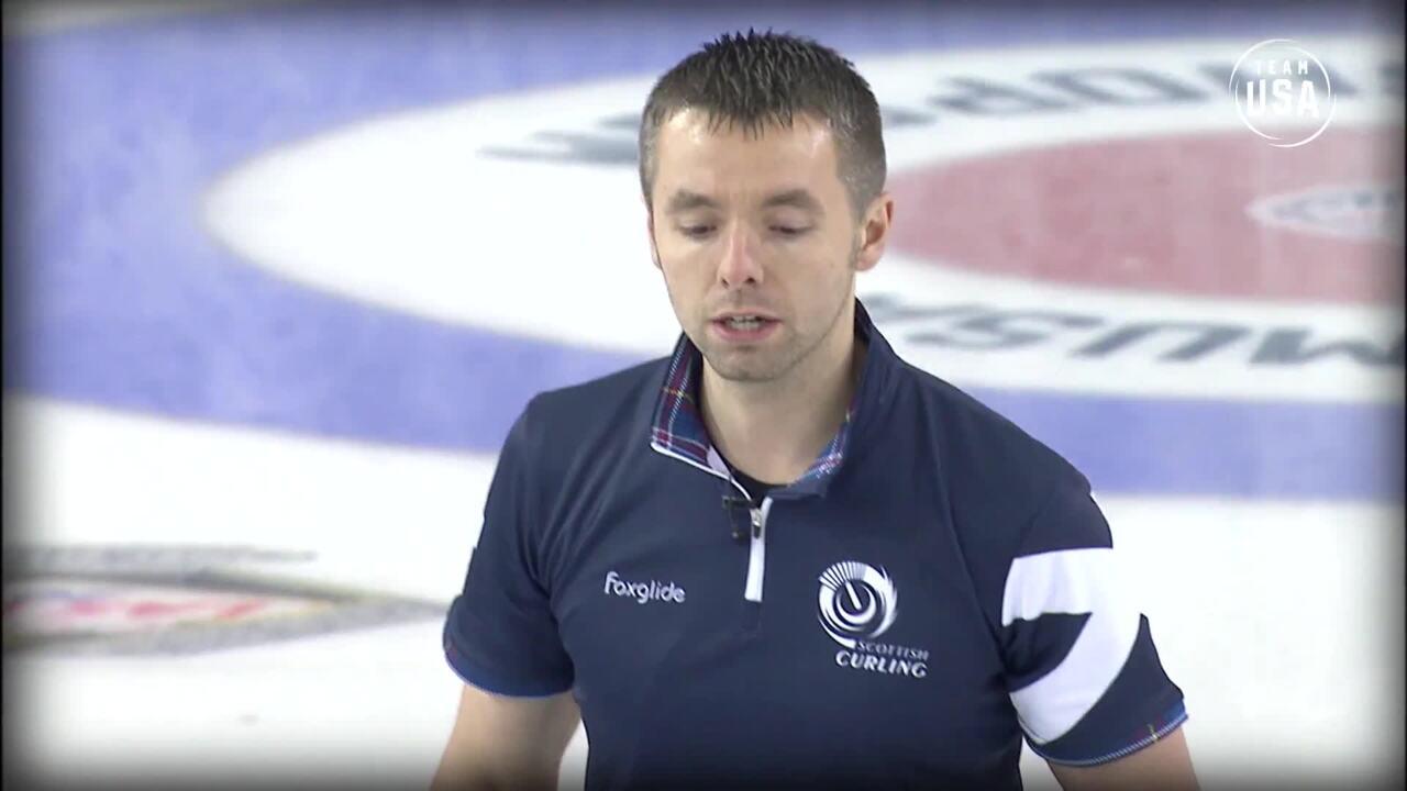 Curling Night In America   U.S. vs Scotland Highlights - Episode 9