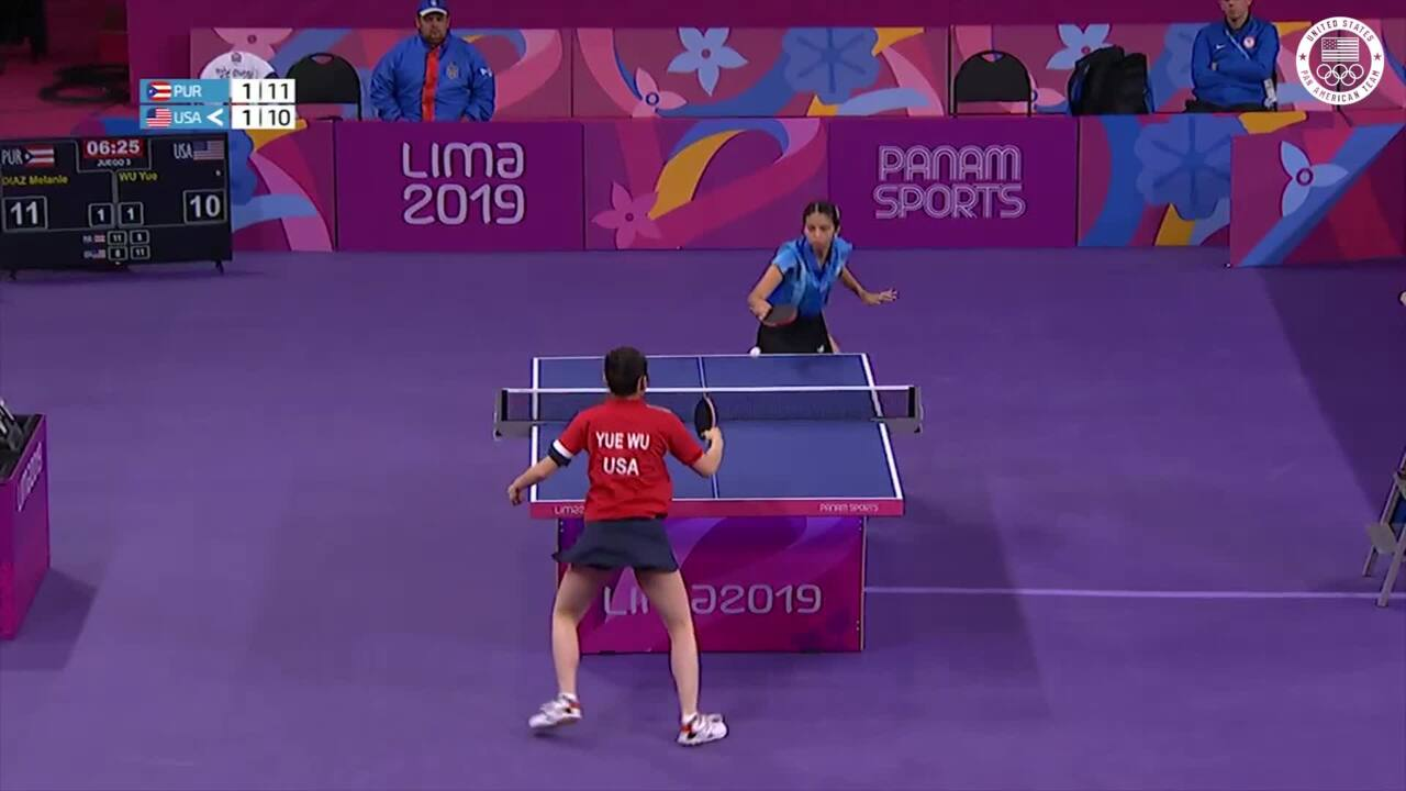 Yue Wu Gets The Win Over Puerto Rico | Pan American Games Lima 2019