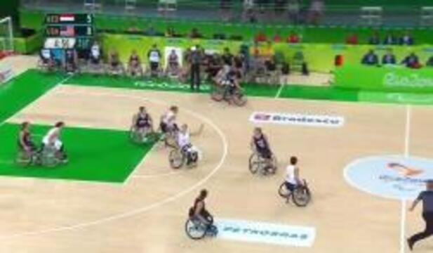 Women's Wheelchair Basketball | USA vs NED Group B Preliminary | 2016 Paralympic Games