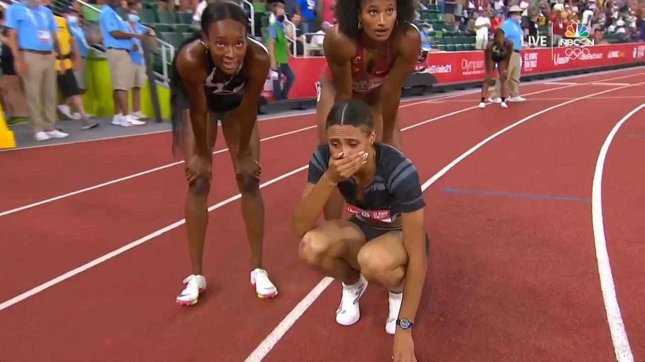 Sydney McLaughlin Sets World Record in Women's 400-Meter Hurdles | Track & Field U.S. Olympic Team Trials 2021