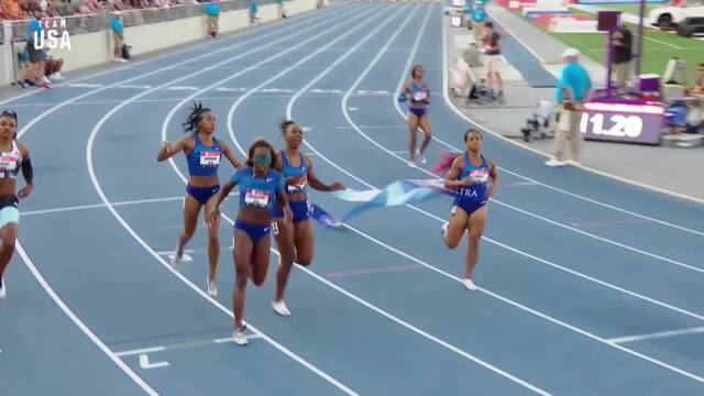 Teahna Daniels Sprints To A National Title In The 100-meter | Champions Series Presented By Xfinity