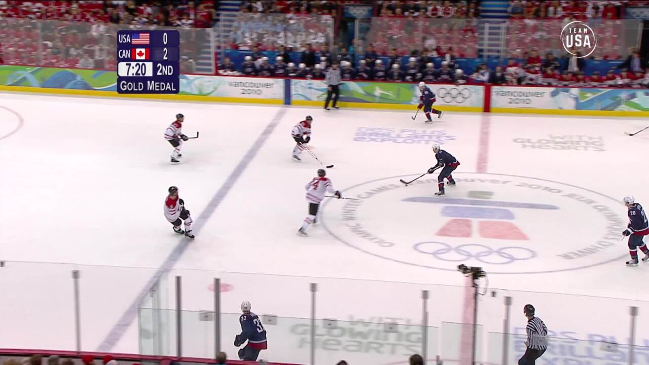 Team USA Olympic Anniversary | Men's Ice Hockey Vancouver 2010