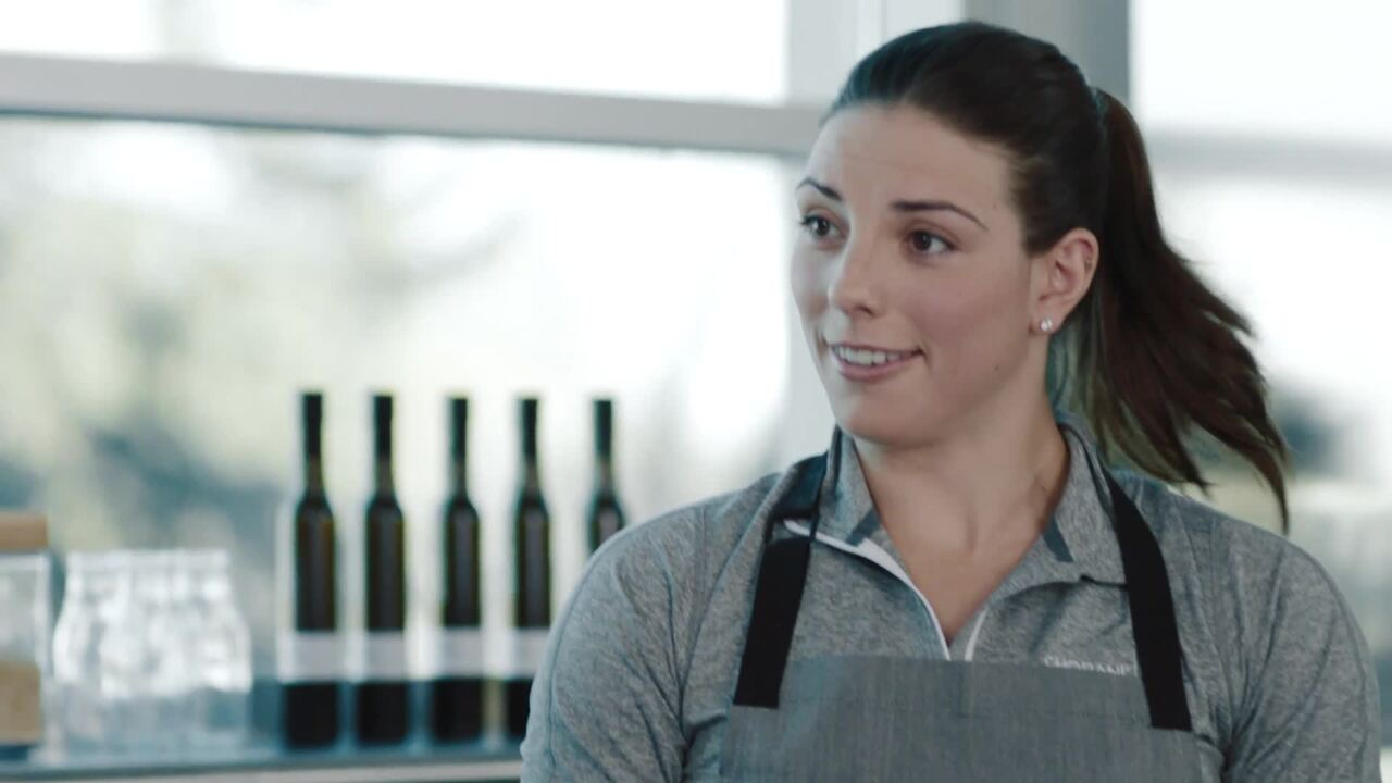 Hilary Knight's Balanced Lifestyle