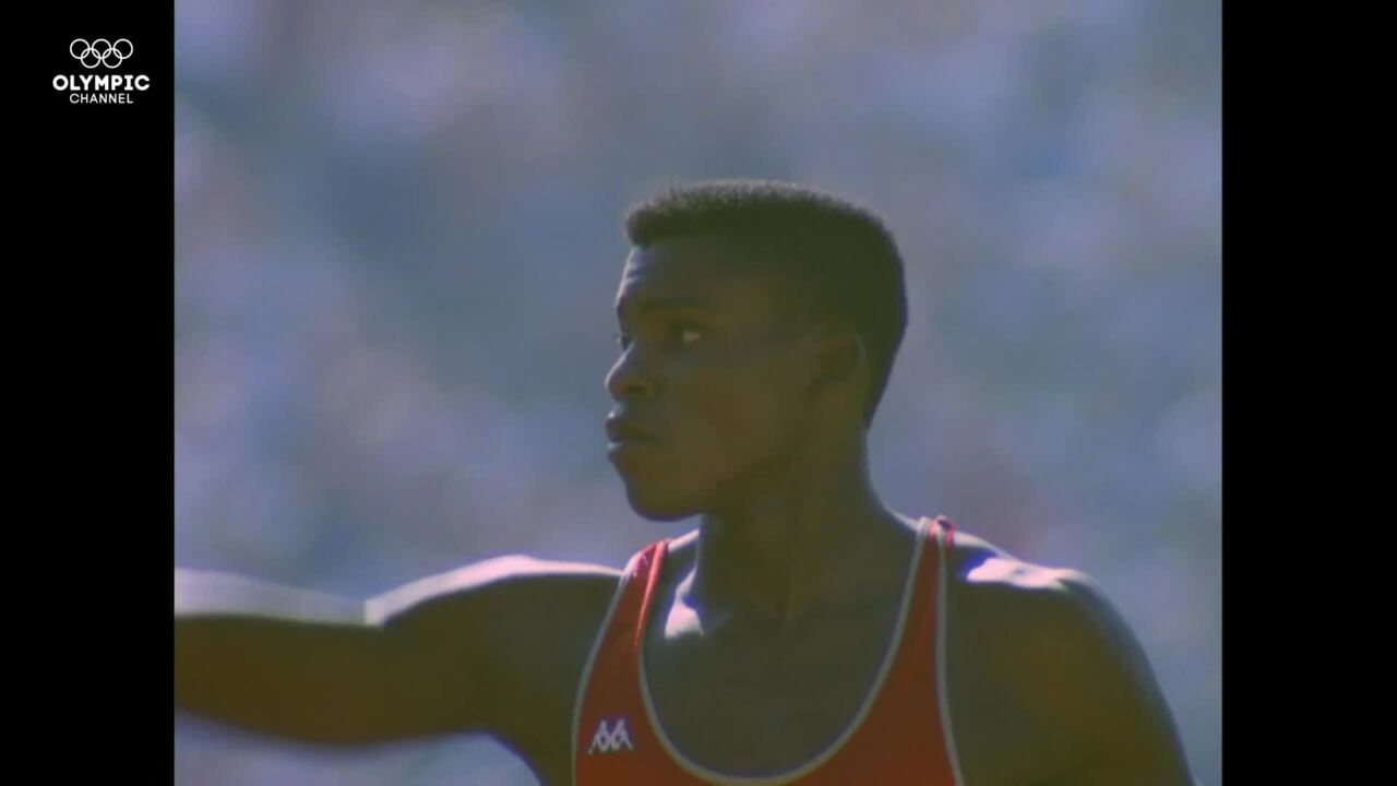 Olympic Channel: On The Line: Los Angeles 1984 - The Story Of When Carl Lewis Met Jesse Owens