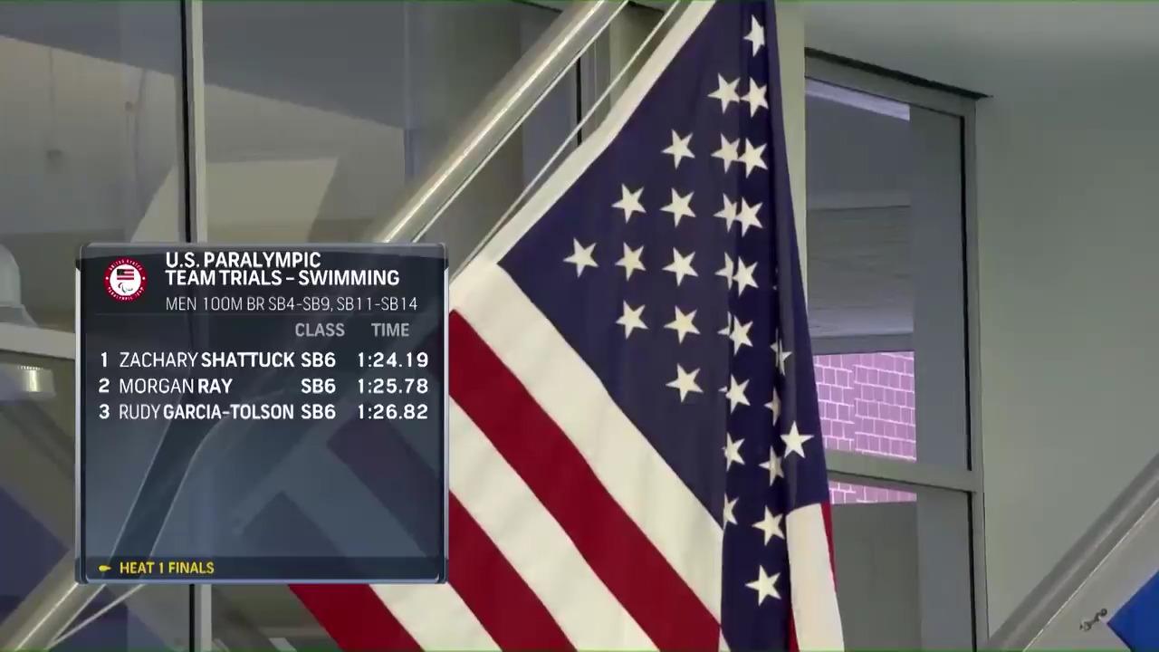 Para Swimming Men's 100-Meter Breaststroke SB4-SB9, SB11-SB14   U.S. Paralympic Team Trials 2021
