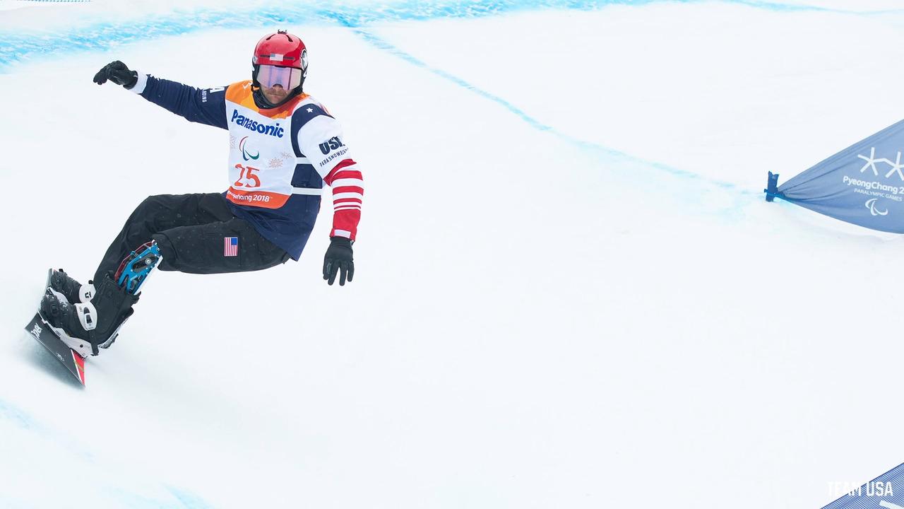 Paralympic Snowboarder Mike Schultz & His Daughter Lauren