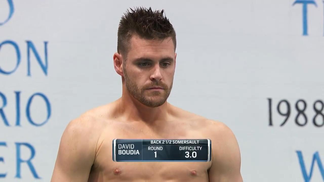 David Boudia Dive #1 - 3-Meter Springboard Platform Semifinals | Diving U.S. Olympic Team Trials 2021