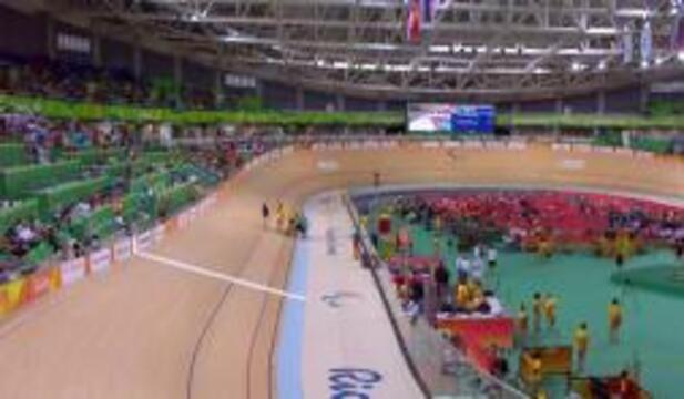 Joseph Berenyi | Men's C3 3000m Individual Pursuit Final | Track Cycling | SILVER | 2016 Paralympic