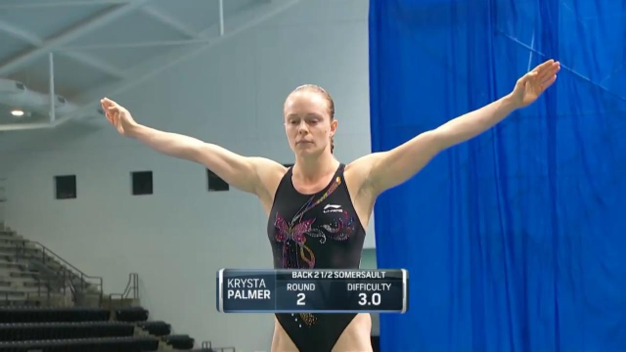 Krysta Palmer Women's 3-Meter Springboard Semifinals | Diving U.S. Olympic Team Trials 2021