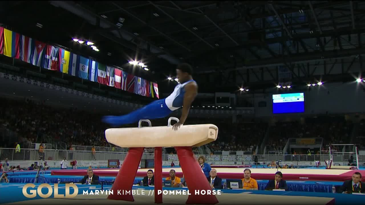 Golden Gymnast Marvin Kimble