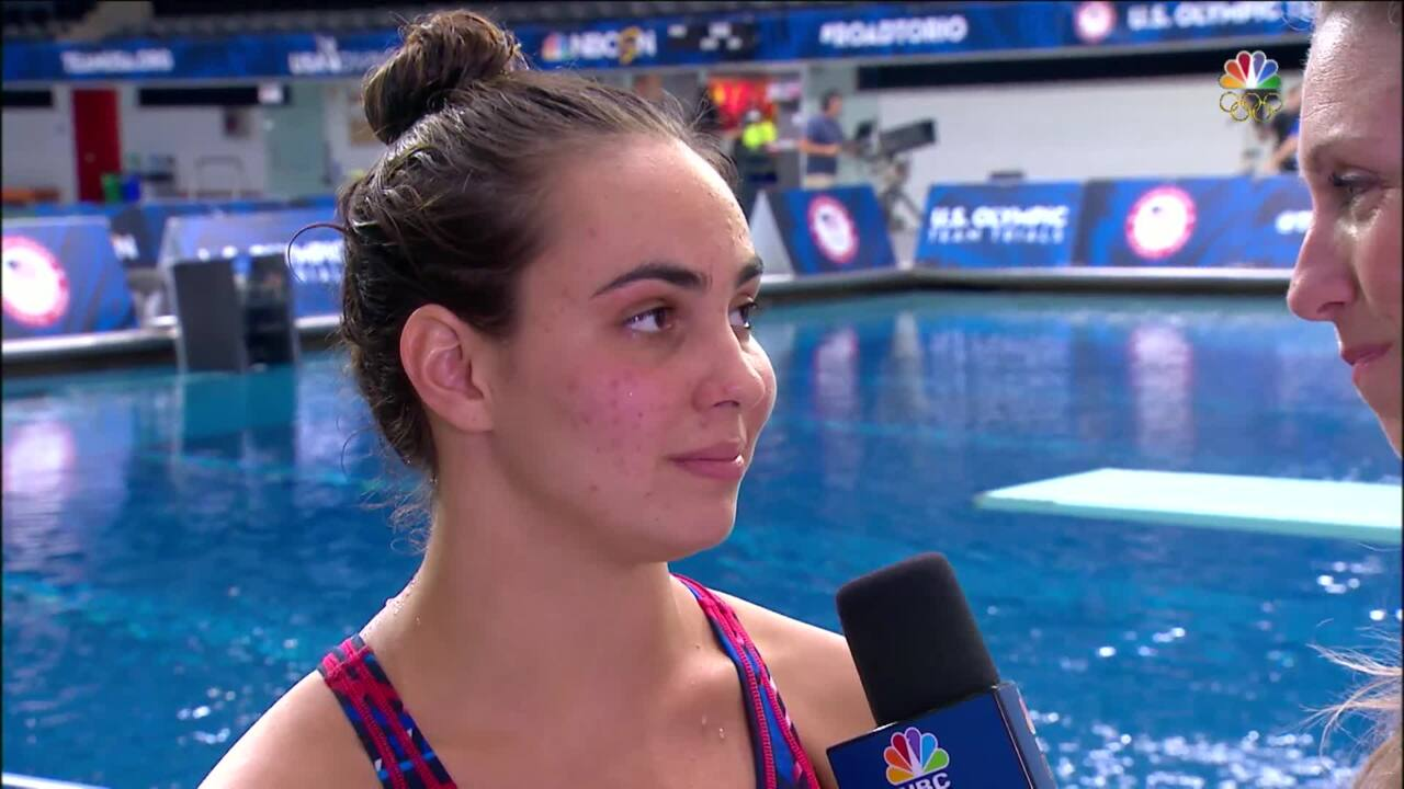 """Olympic Diving Trials   Murphy Bromberg """"All Over The Place"""""""