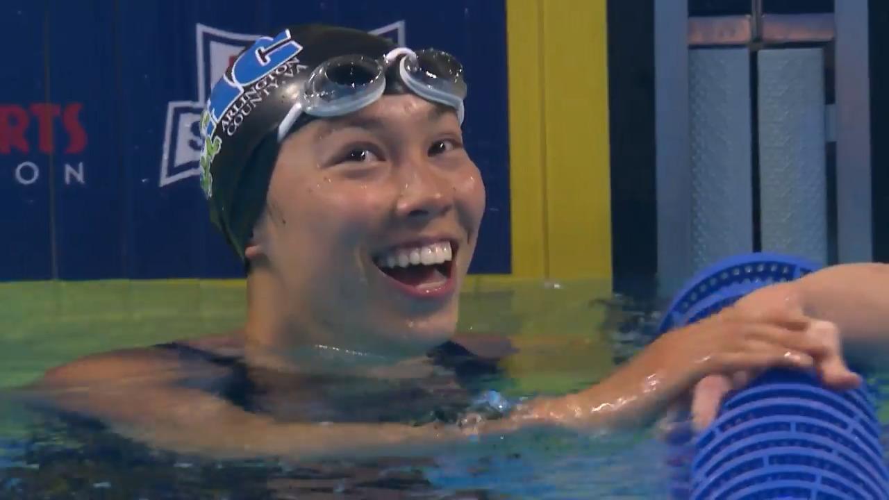 Torri Huske Women's 100M Fly Final | Swimming U.S. Olympic Team Trials 2021