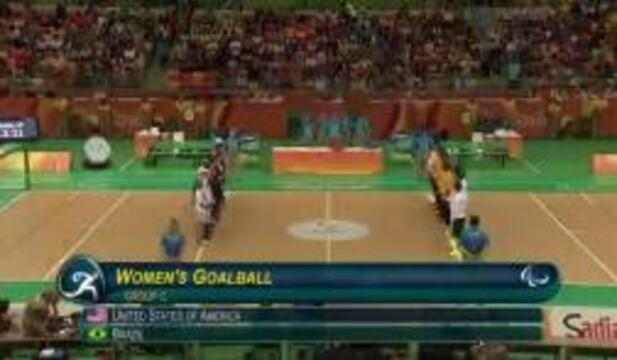 Goalball Highlights | September 8th |2016 Paralympic Games