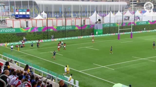 Women's Rugby Wins 55-0 v. Trinidad & Tobago | Pan American Games Lima 2019