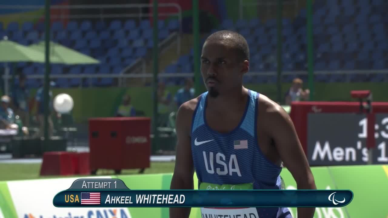 Ahkeel Whitehead | Men's Long Jump - T37 Final | Athletics | Paralympic Games 2016