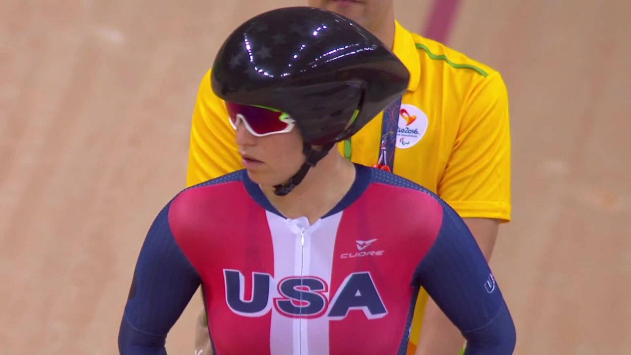 Allison Jones | Jamie Whitmore | Women's C1-2-3 500m Time Trial | 2016 Paralympic Games
