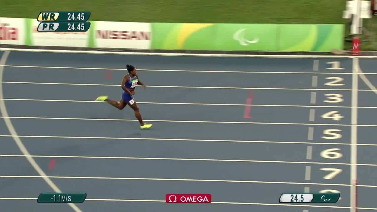 Deja Young | Women's 200m T47 Heat 2 | 2016 Paralympic Games