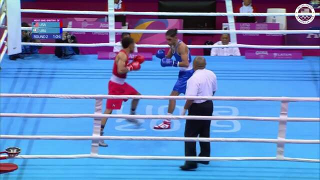 Boxer Duke Ragan Advances To Gold-Medal Match | Pan American Games Lima 2019