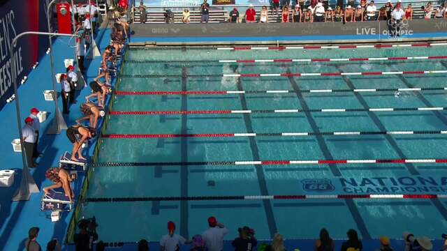 Olympians Katie Ledecky, Allison Schmitt Finish 1st And 2nd In 200m Free | Summer Champions Series | 2018 Phillips 66 National Championships