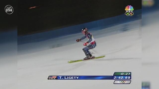 Gold Medal Moments Presented By HERSHEY'S | Ted Ligety Pulls The Upset To Win Gold In Torino
