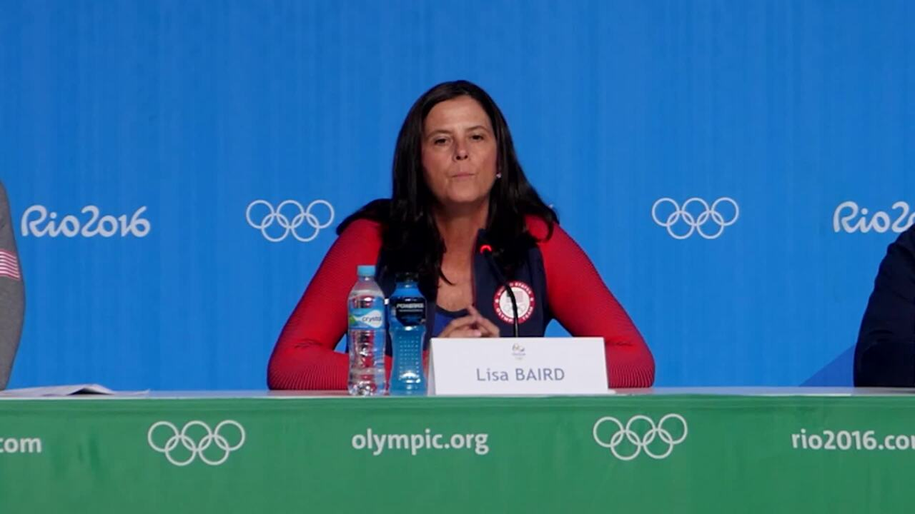 USOC Leadership Talks Legacy With Media In Rio