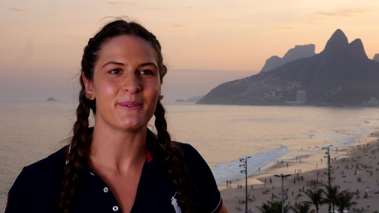 Adeline Gray Is Ready To Wrestle In Rio