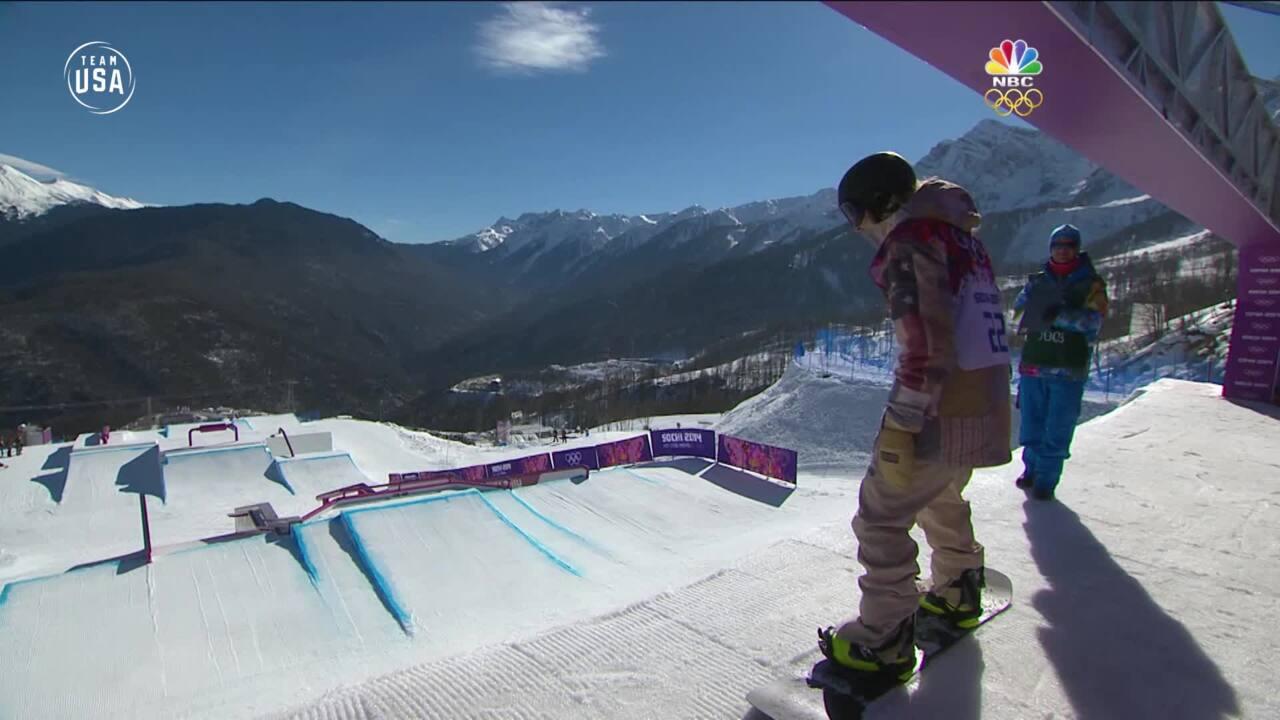 Team USA Olympic Anniversary | Sage Kotsenburg Sochi 2014