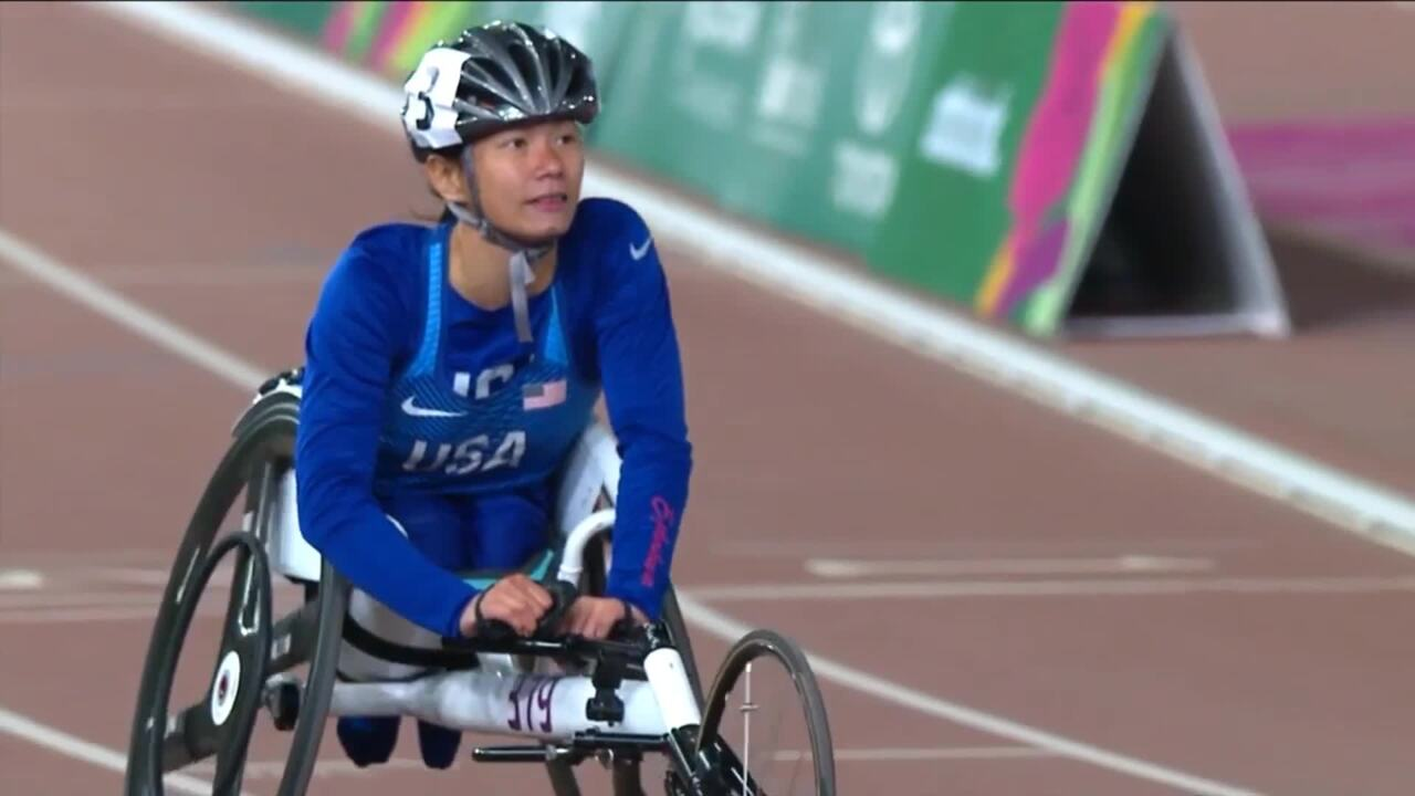 Team USA Sweeps Women's T54 400m | Parapan American Games Lima 2019