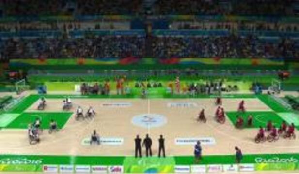 USA vs CHI Women's Wheelchair Basketball | 2016 Paralympic Games