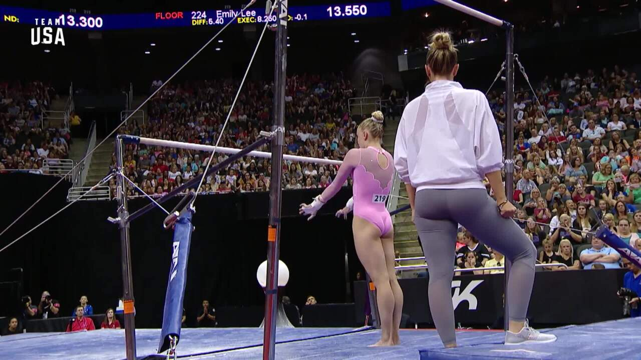 Riley McCusker Uneven Bars | Champions Series Presented By Xfinity