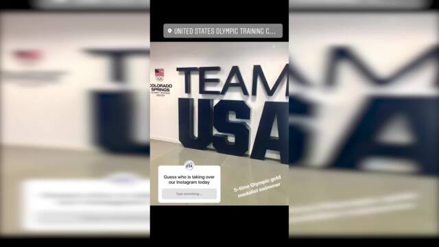 Katie Ledecky Takes Over Team USA's Instagram For A Day