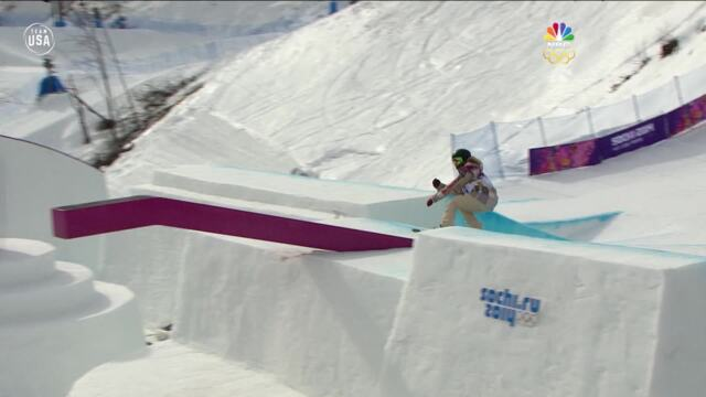 Gold Medal Moments Presented By HERSHEY'S | Jamie Anderson Wins First Snowboarding Slopestyle Gold Medal In Sochi