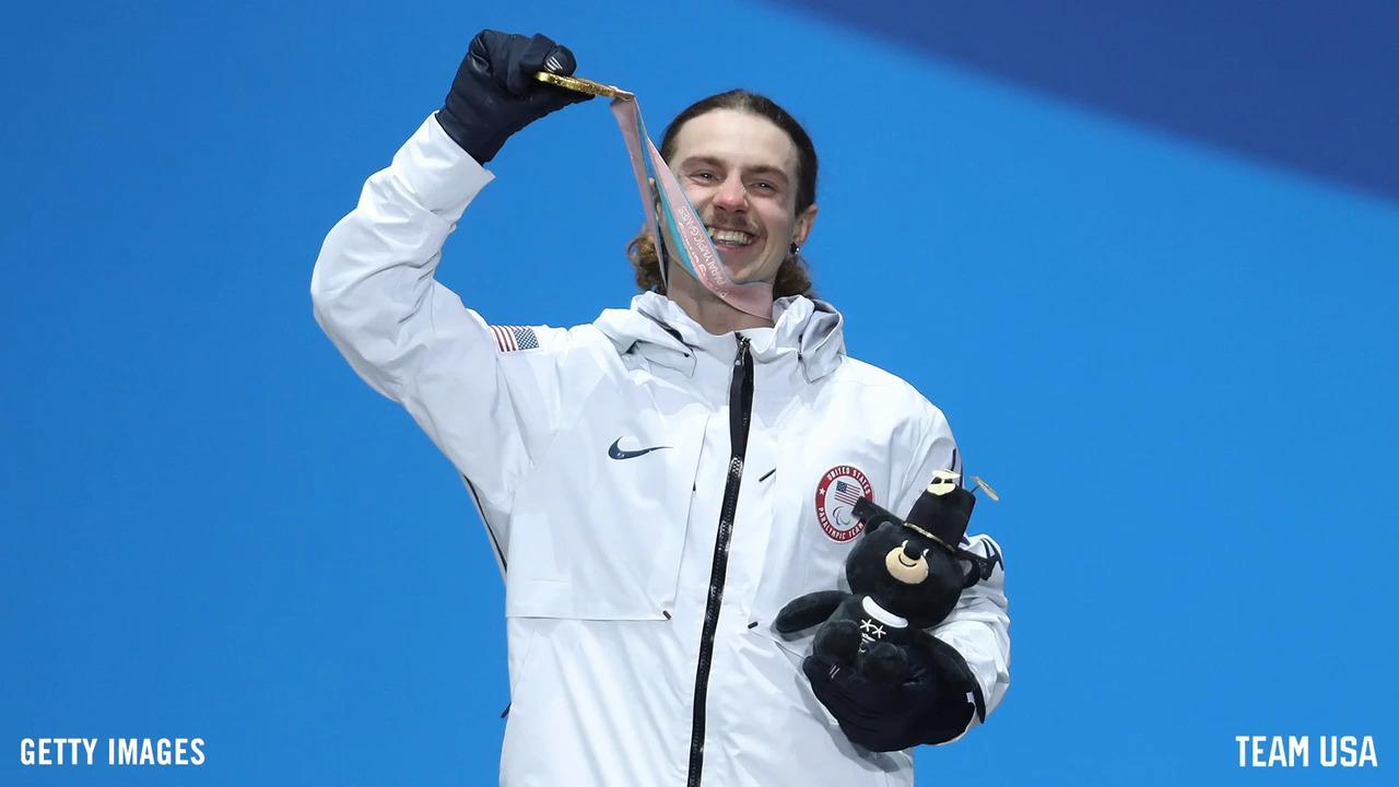 Paralympic Snowbaorder Noah Elliott & His Inspiration - Daughter Skylar