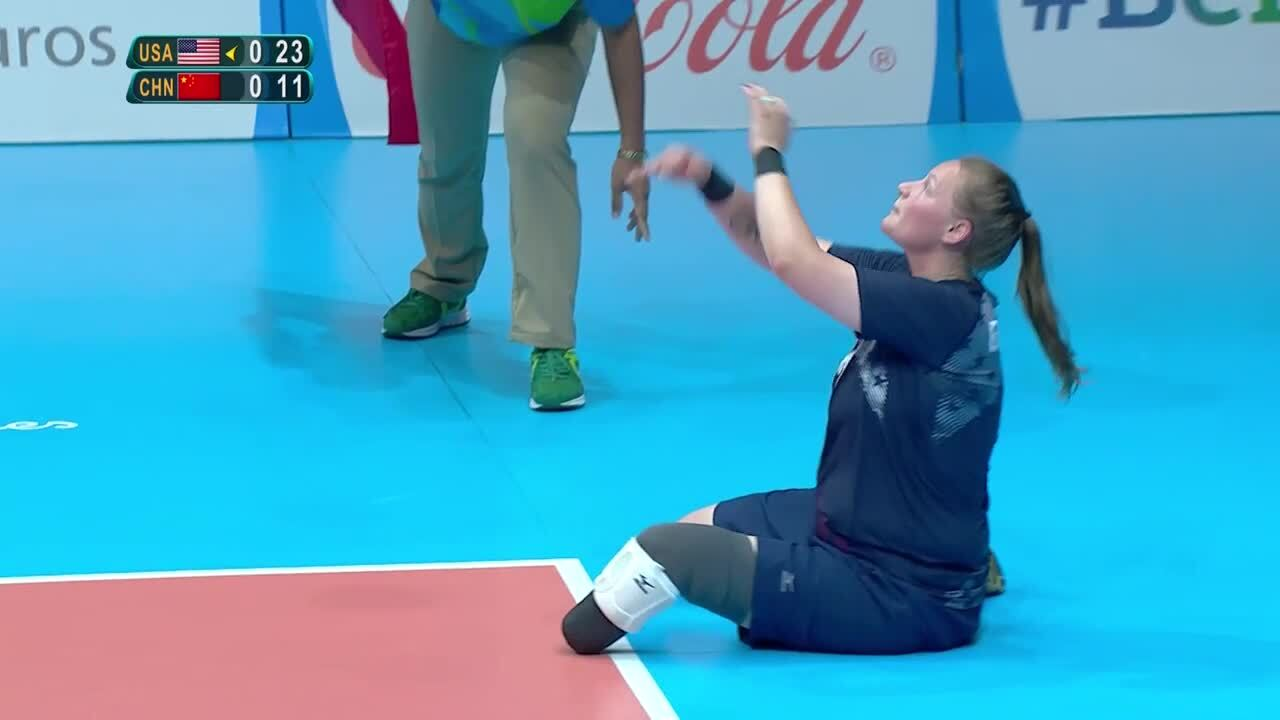 Women's Sitting Volleyball | USA vs China Gold Medal Game Highlights | 2016 Paralympic Games