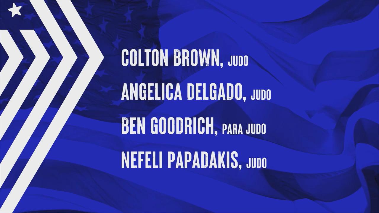Colton Brown, Angelica Delgado, Ben Goodrich, Nefeli Papadakis | Tokyo 2020 Team USA Virtual Media Summit