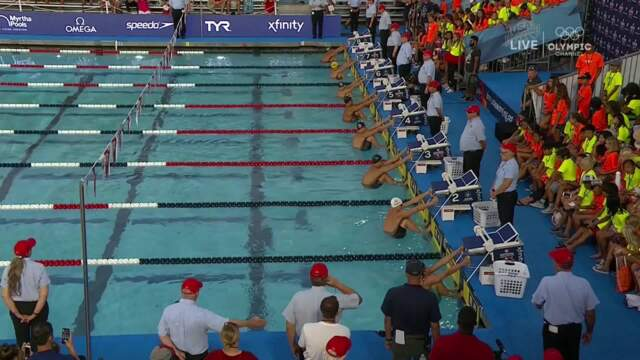 Ryan Murphy Wins Men's 50m Backstroke | Summer Champions Series
