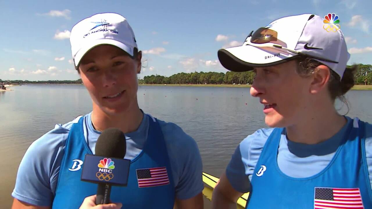 Ellen Tomek And Meghan O'Leary Qualify For Rio In Women's Double Sculls