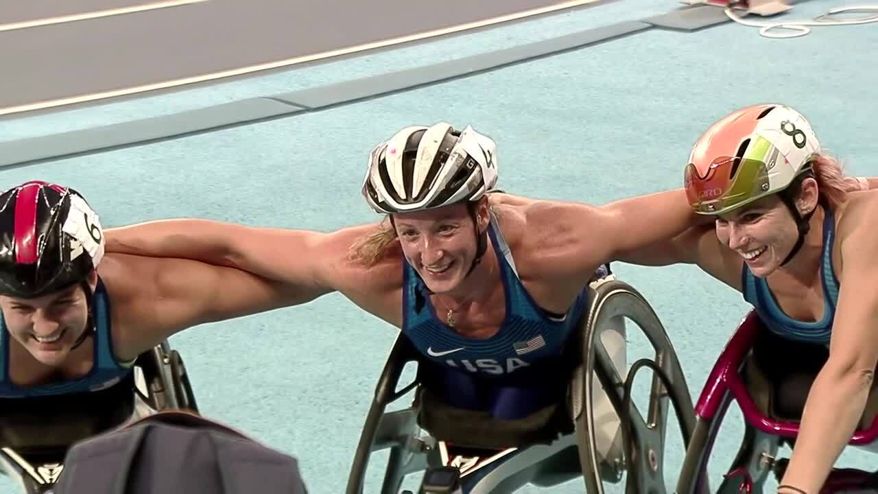 McFadden, McClammer, McGrory Sweep Women's 5000m T53/54 Final | 2016 Paralympic Games