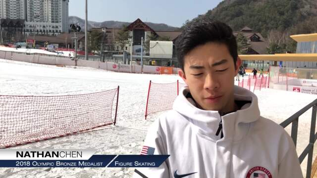 Nathan Chen On His Historic Six-Quad Performance | Team USA In PyeongChang