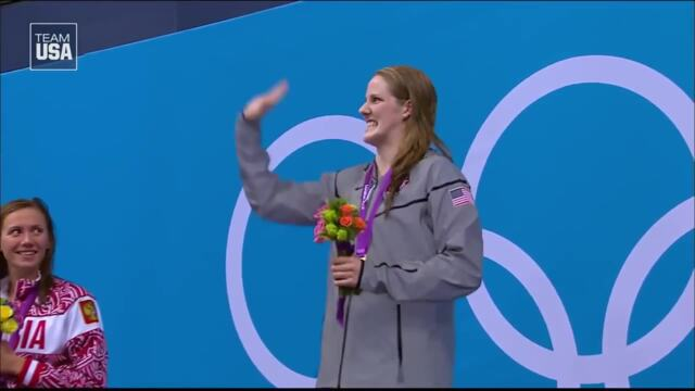 Missy Franklin's Incredible Performance At The Olympic Games London 2012