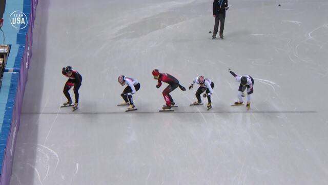 John-Henry Krueger Skates To Olympic Short Track Silver
