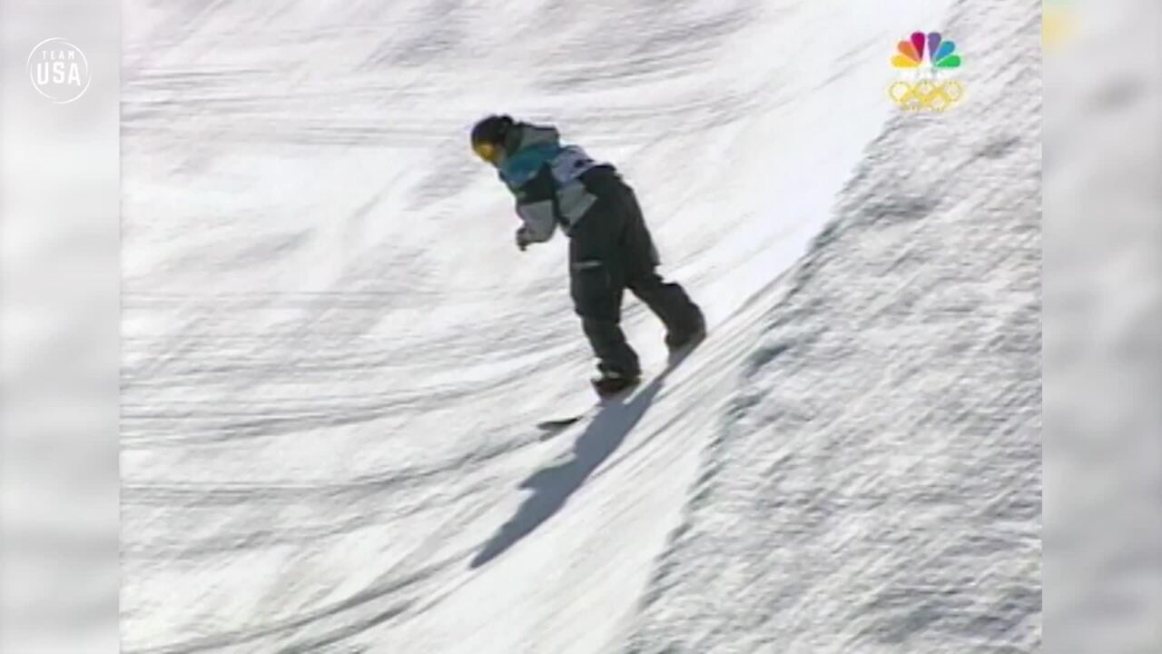 Team USA Olympic Anniversary | Kelly Clark Salt Lake 2002